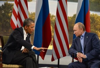 Barack Obama et Vladimir Poutine