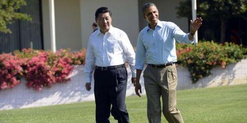 Xi Jinping et Barack Obama
