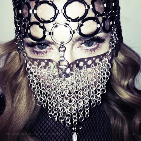 Madonna en niqab