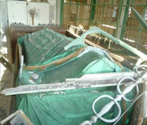 Le mausolée de Khâlid ibn al-Walîd