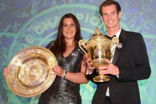 Marion Bartoli et Andy Murray, gagnants de Wimbledon