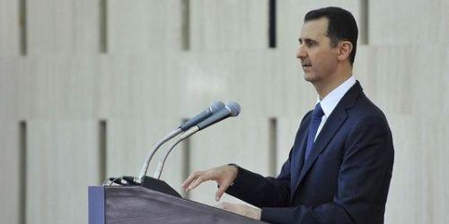 Bachar-al-Assad, le 4 aout 2013, à Damas