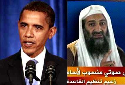 Obama et Ben Laden