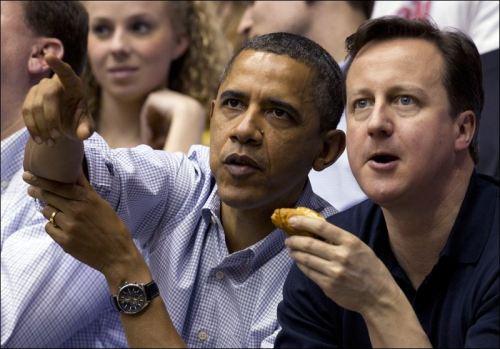 Obama et Cameron