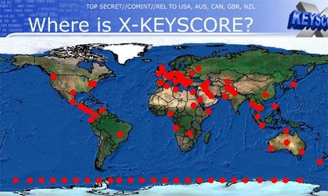 Surveillance XKeyscore