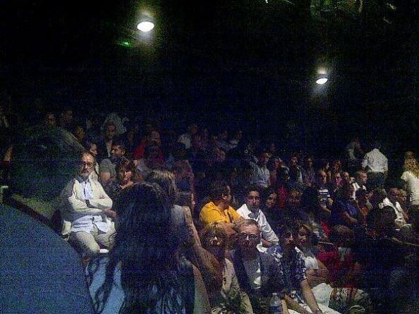 Théâtre de la Main d'Or: Un public toujours ausi nombreux.