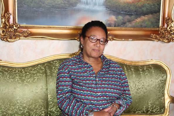 Mme Augusta Epanya de l'UPC dite des Fidèles