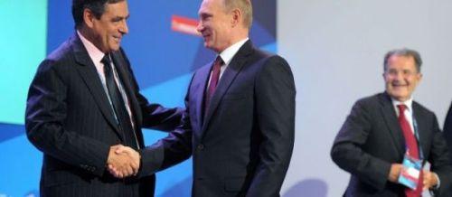 François Fillon & Vladimir Poutine