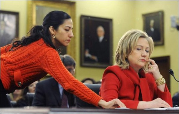 Hillary Clinton et Huma Abedin, sa maîtresse