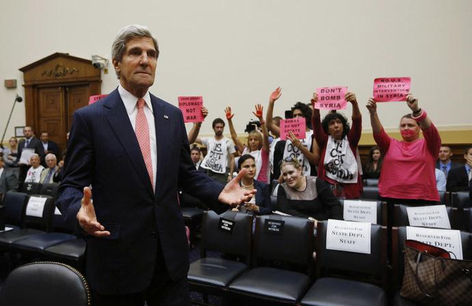 John Kerry et les anti-guerre à Washington/Archives
