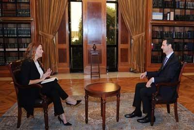 Monica Maggioni & Bachar al-Assad