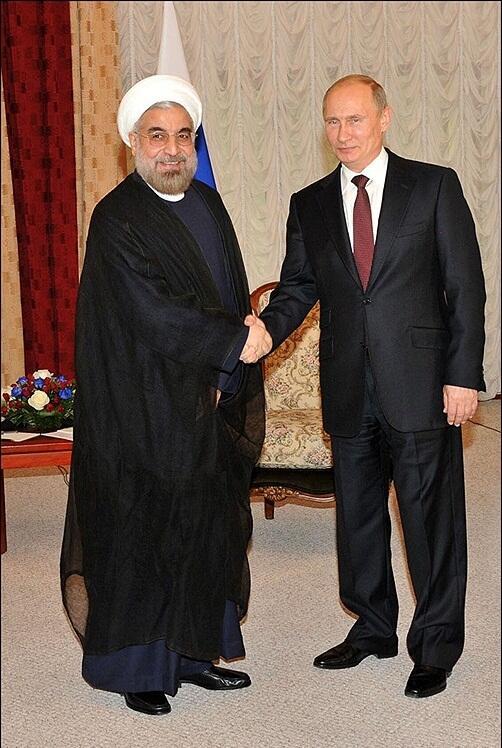 Rouhani et Poutine
