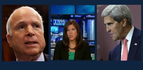 McCain, O'Bagy et Kerry
