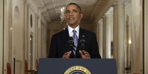 Barack Obama ce matin à la Maison Blanche