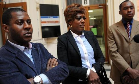 David, le conducteur du véhicule contrôlé, et Guilene, une des jeunes femmes, étaient convoqués, hier matin au tribunal. - (Photo NR, Patrice Deschamps)