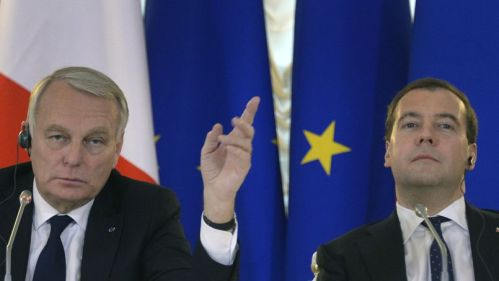 Ayrault & Medvedev