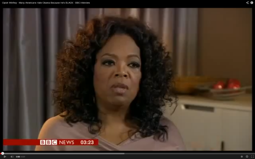 Oprah Winfrey/Capture d'écran Youtube
