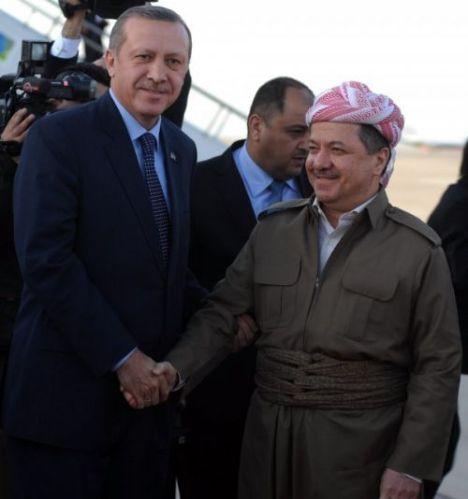 Recep Tayyip Erdoğan & Mesut Barzani