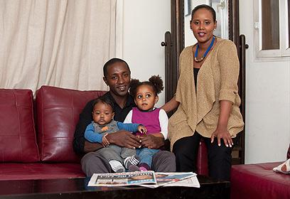 Pnina Tamano-Shata en famille