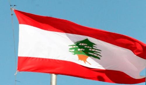 Drapeau libanais/ Photo : EPA/Youssef Badawi