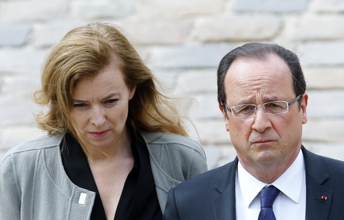 Valerie Trierweiler & Francois Hollande