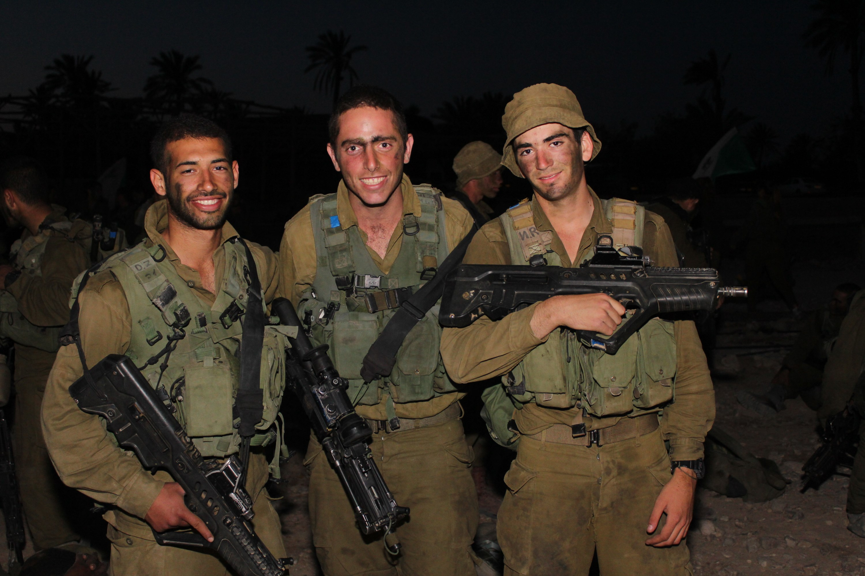 Trois soldats de Tsahal