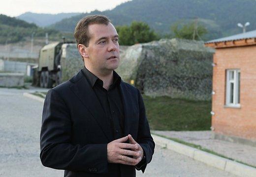 Dmitri Medvedev à Simferopol