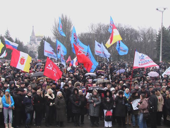 Pro-russes à Odessa/Images d'archives/Crédits photo/ Alexandre Sivov