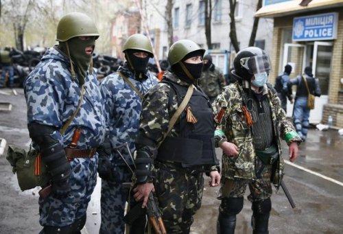 Forces pro-russe/Image d'archives