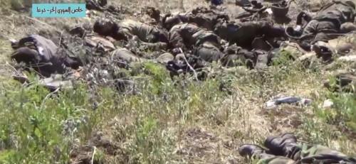 Soldats syriens gazés