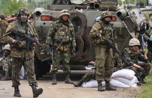 Militaires ukrainiens