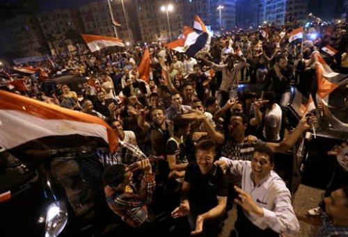 Partisans de Al-Sissi, hier au Caire