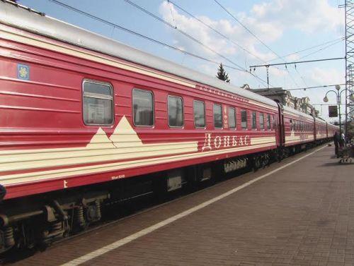 Train Moscou-Donetsk/Crédits photo/ Alexandre Sivov