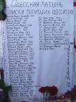 Les morts selon Kiev /Maison des syndicats/Crédits photo/Alexandre Sivov