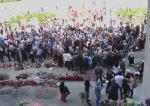 Odessa/Foule devant la Maison des syndicats/Crédits photo/ Alexandre Sivov
