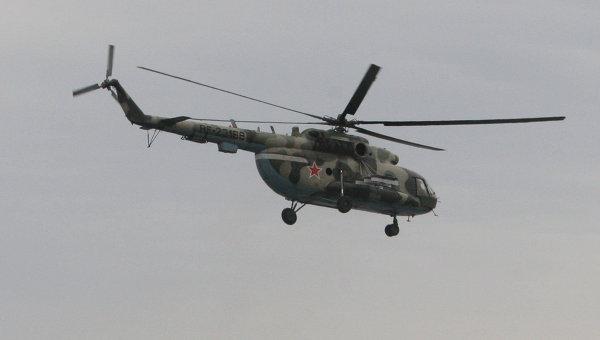 Un Mi-8 en vol !