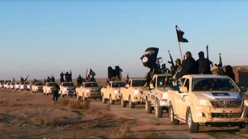 Colonne djiahiste à l'assaut de Bagdad