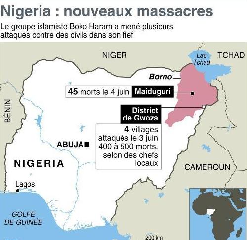 Derniers exploits de Boko Haram au Nigéria