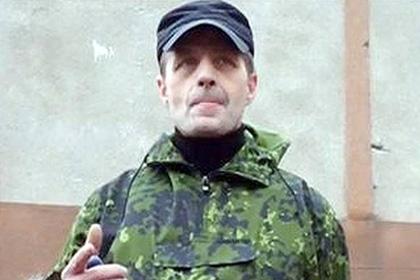 Le commandant Gorlovki Igor Bezler dit Bes Callsign