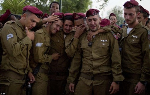 Funérailles du  sergent Bnaya Rubel