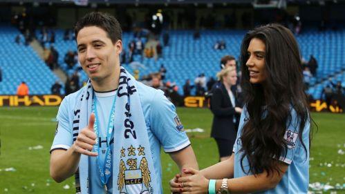 Samir Nasri  et son amie  Anara Atanes