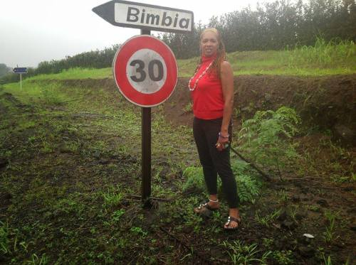 Lisa-Marie Aubrey à Bimbia