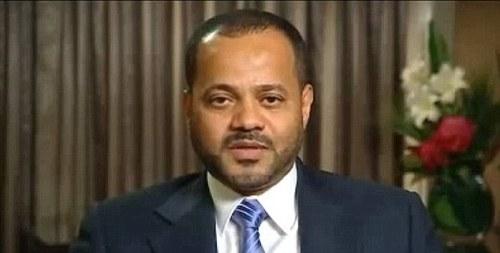 Le mari, Sayyid Badr bin Hamad.