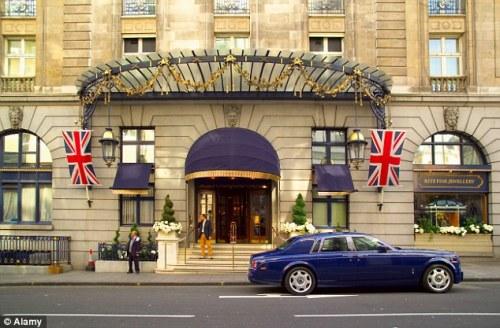 Le Ritz, à Piccadilly, Londres