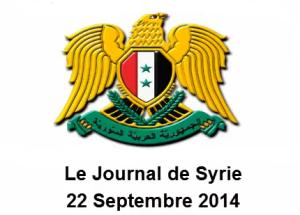 Irak et Syrie ou l'arnaque occidentale de l'EI  22sept