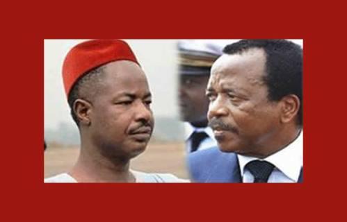 Ahmadou Ahidjo & Paul Biya