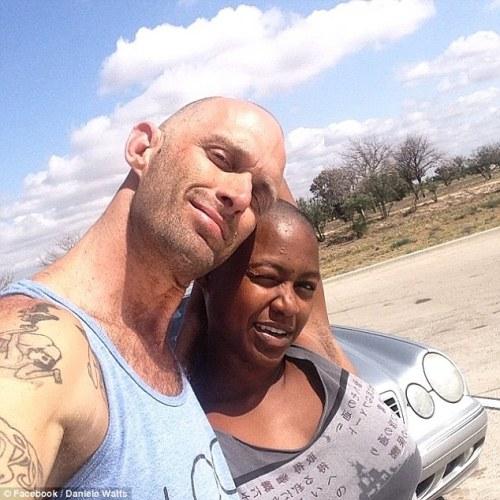 Daniele Watts et son mari Brian James Lucas