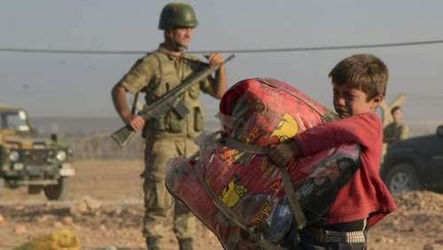 Jeune réfugié kurde-syrien