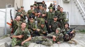 """Miliciens de L'""""Autre Russie"""" engagés au Donbass"""