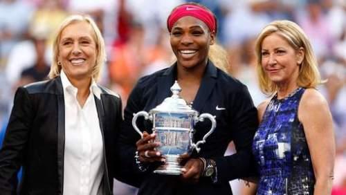 Serena Williams égale avec ses 18 titres majeurs ses compatriotes Chris Evert et Martina Navratilova